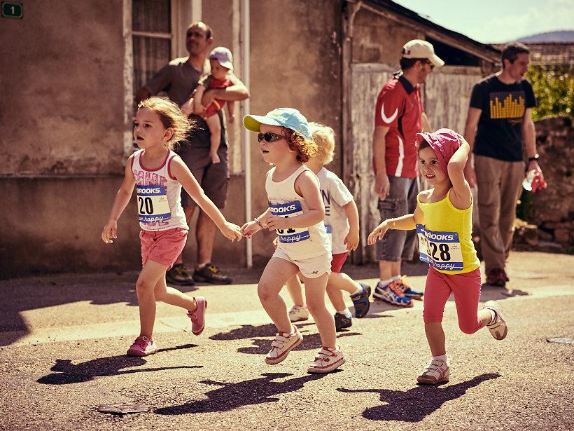Pilatrail 2015, course des enfants